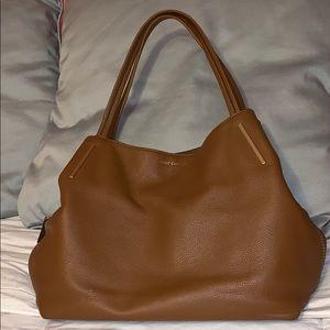 Vince Camuto Camel Brown Leather Bag